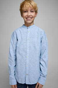 JACK & JONES JUNIOR overhemd Summer lichtblauw, Lichtblauw