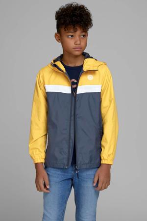 zomerjas Cott geel/donkerblauw/wit
