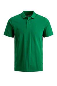 JACK & JONES JUNIOR polo Basic met borduursels groen, Groen