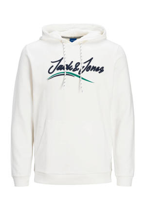 hoodie Flexx met logo wit