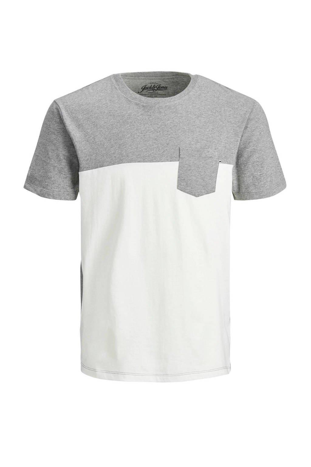 JACK & JONES JUNIOR T-shirt Mix wit, Wit