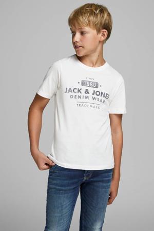 T-shirt Jeans met printopdruk wit