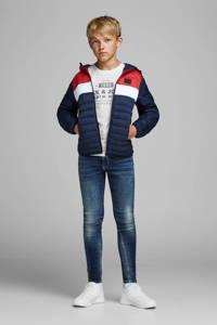 JACK & JONES JUNIOR T-shirt Jeans met printopdruk wit, Wit