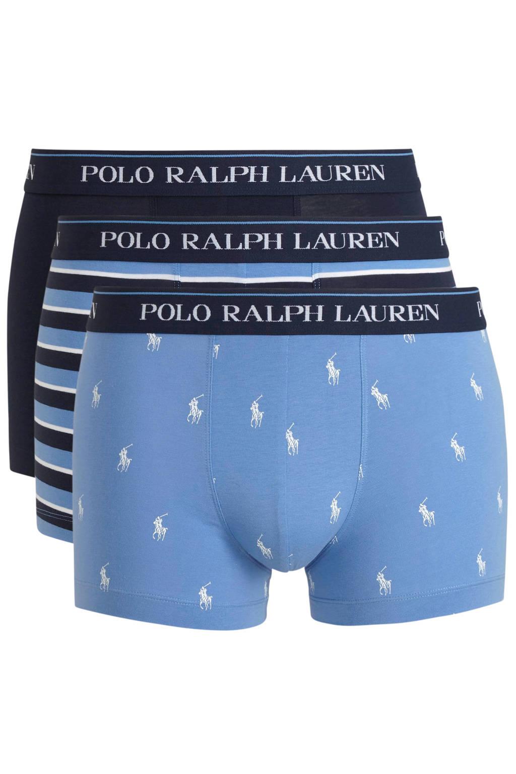 POLO Ralph Lauren boxershort (set van 3), Lichtblauw