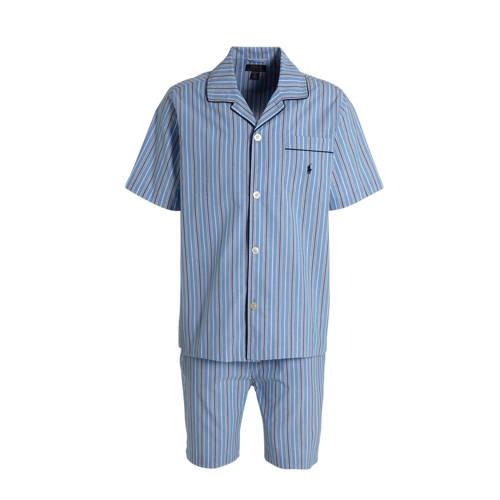 POLO Ralph Lauren gestreepte pyjama blauw