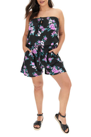playsuit multi/zwart (set van 2)