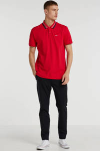 Tommy Jeans regular fit polo rood, Rood