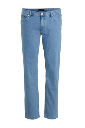 +size straight fit jeans Madison light denim