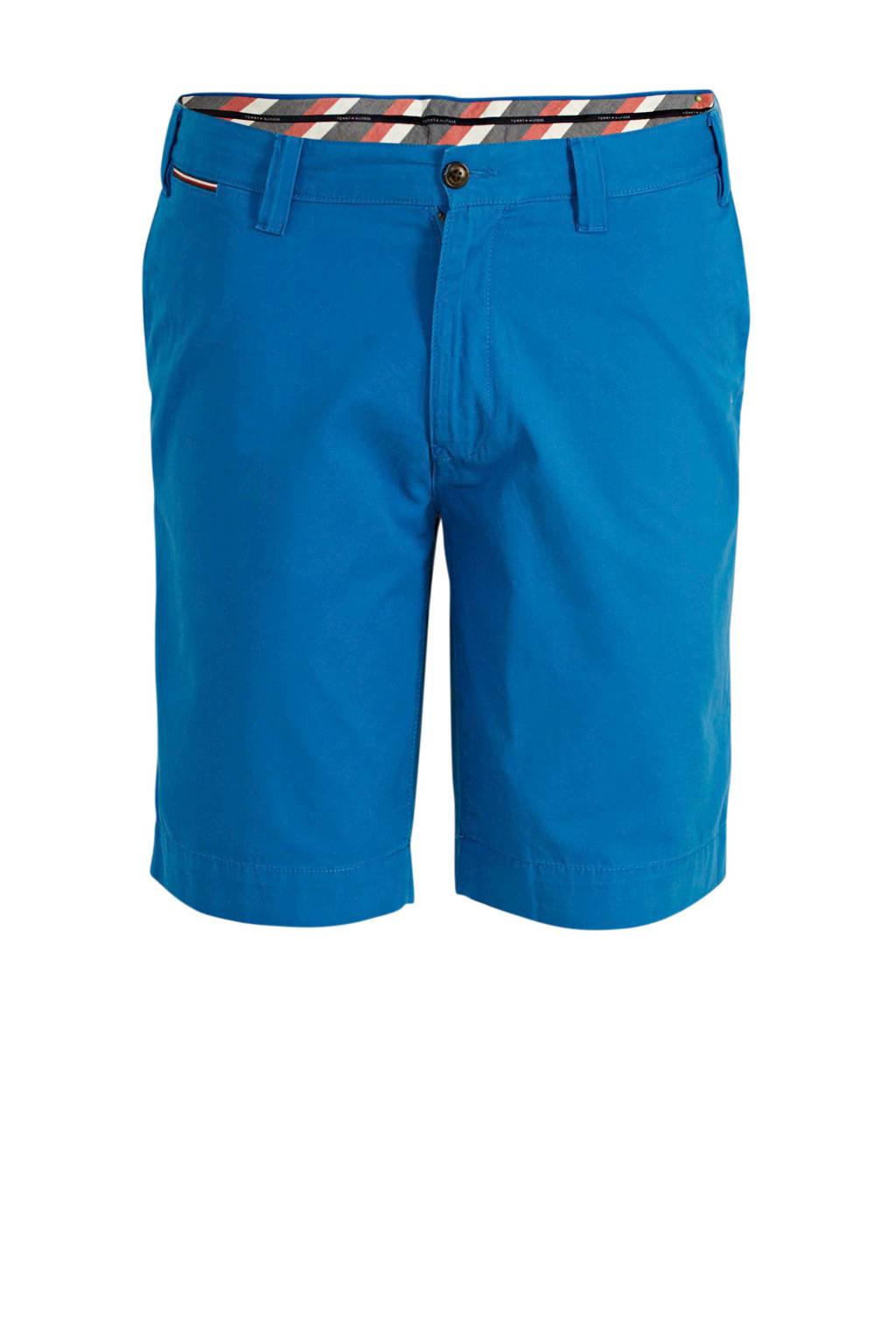 Tommy Hilfiger Big & Tall +size regular fit bermuda blauw, Blauw
