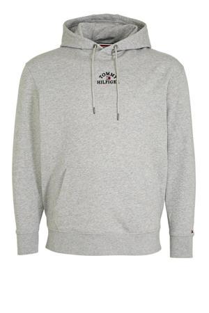 +size trui met logo grijs