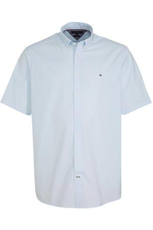+size regular fit overhemd lichtblauw