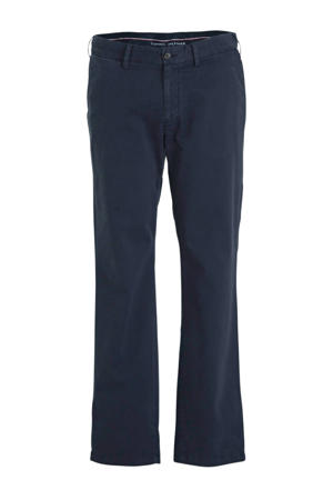 +size regular fit chino donkerblauw