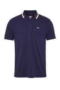 Tommy Jeans regular fit polo donkerblauw, Donkerblauw