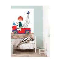 KEK Amsterdam behangpaneel Pluk van de Petteflet (142.5x180 cm), Rood