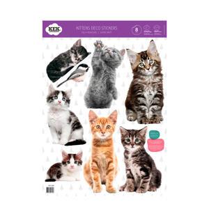 set muurstickers Kittens (set van 4)