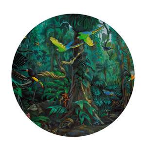 behangcirkel Tropical Landscape (ø190 cm)