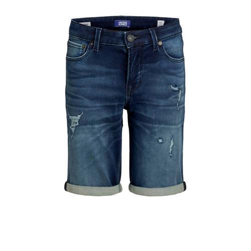 JACK & JONES JUNIOR jeans bermuda Rick stonewa