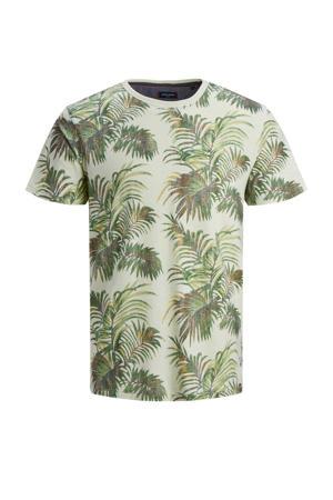 T-shirt Max met all over print lichtgroen