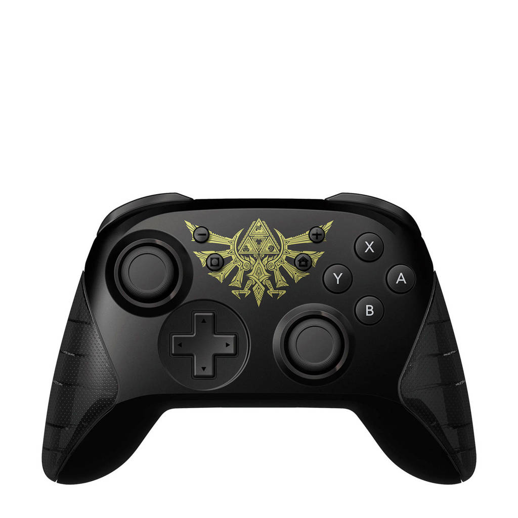 Hori Nintendo Switch / Lite draadloze Pro controller Zelda, Zwart