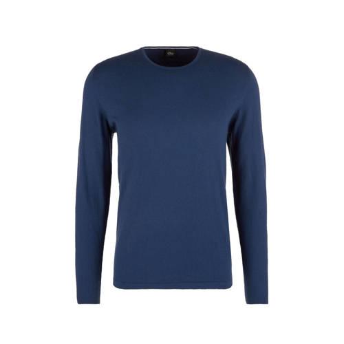 s.Oliver BLACK LABEL sweater blauw