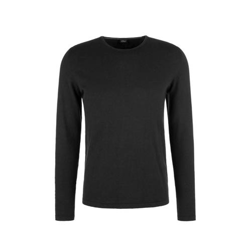 s.Oliver BLACK LABEL sweater antraciet