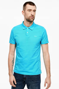 s.Oliver regular  fit polo turquoise, Turquoise
