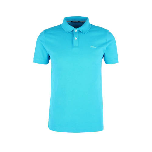 s.Oliver regular fit polo turquoise