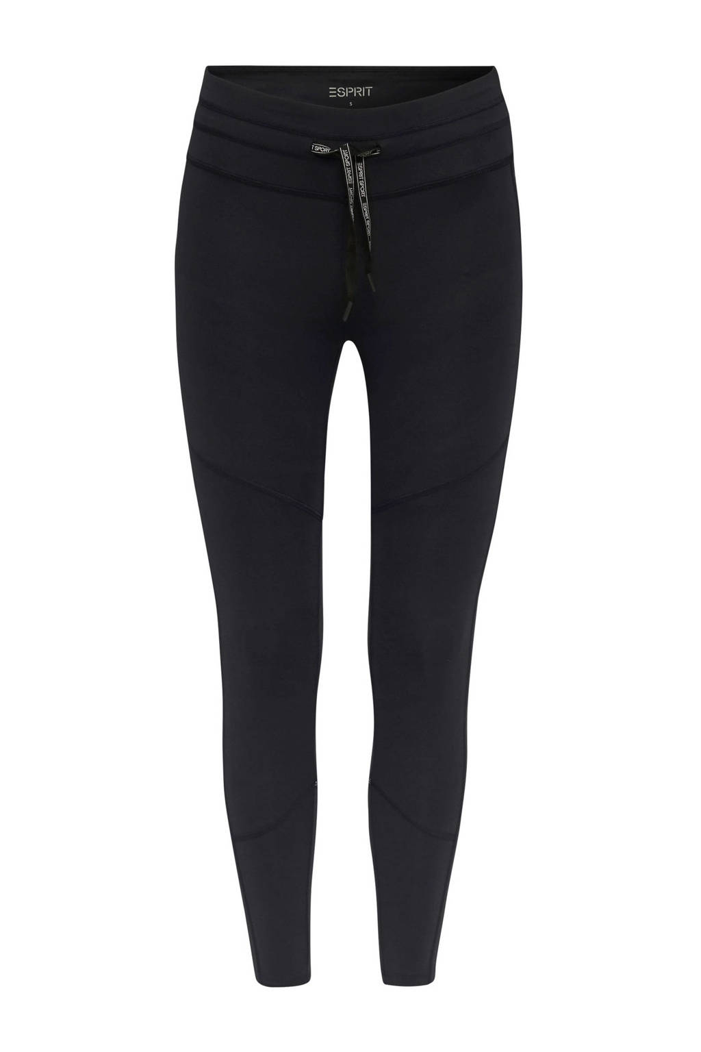ESPRIT Women Sports 7/8 sportbroek zwart, Zwart