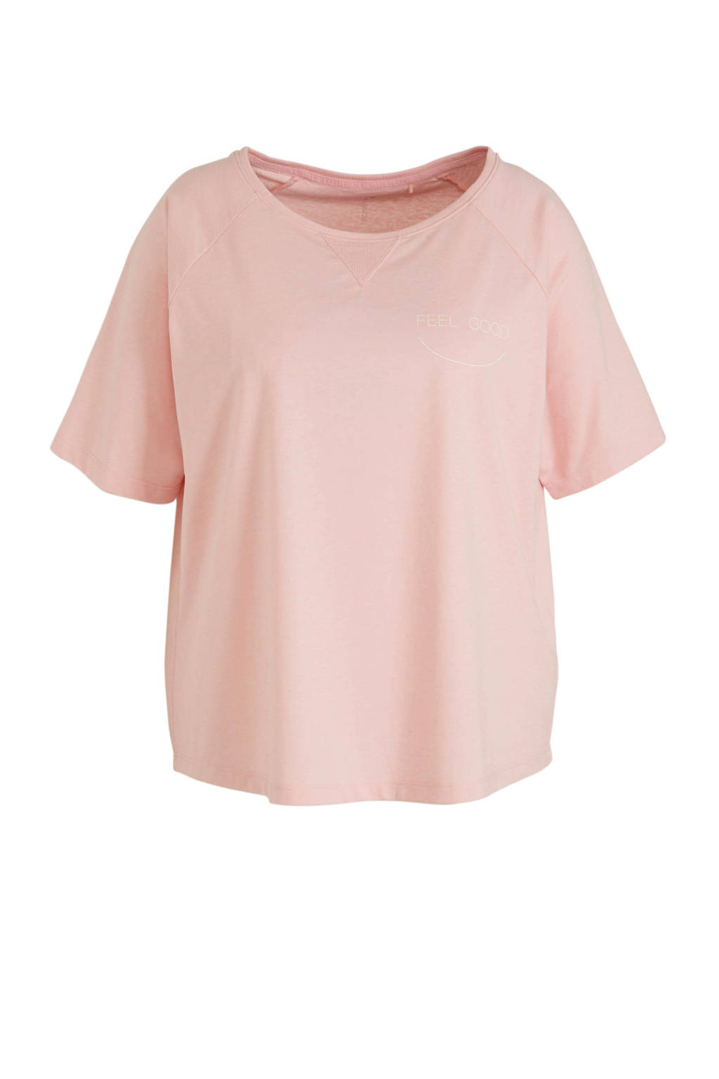 ESPRIT Women Sports Plus Size sport T-shirt roze, Roze
