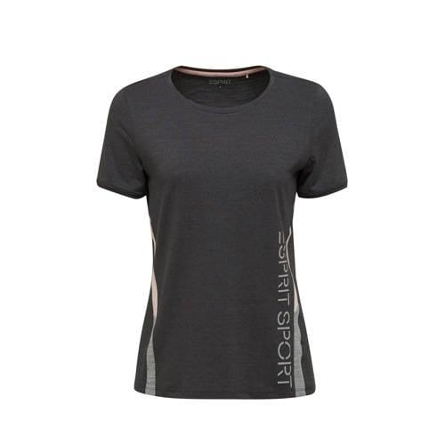 ESPRIT Women Sports T-shirt antraciet