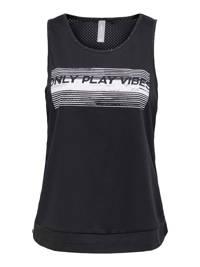 ONLY PLAY sporttop zwart, Zwart