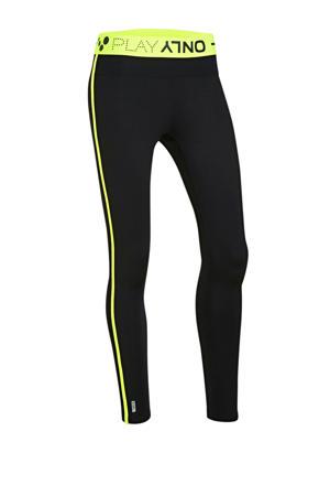 sportbroek zwart/geel
