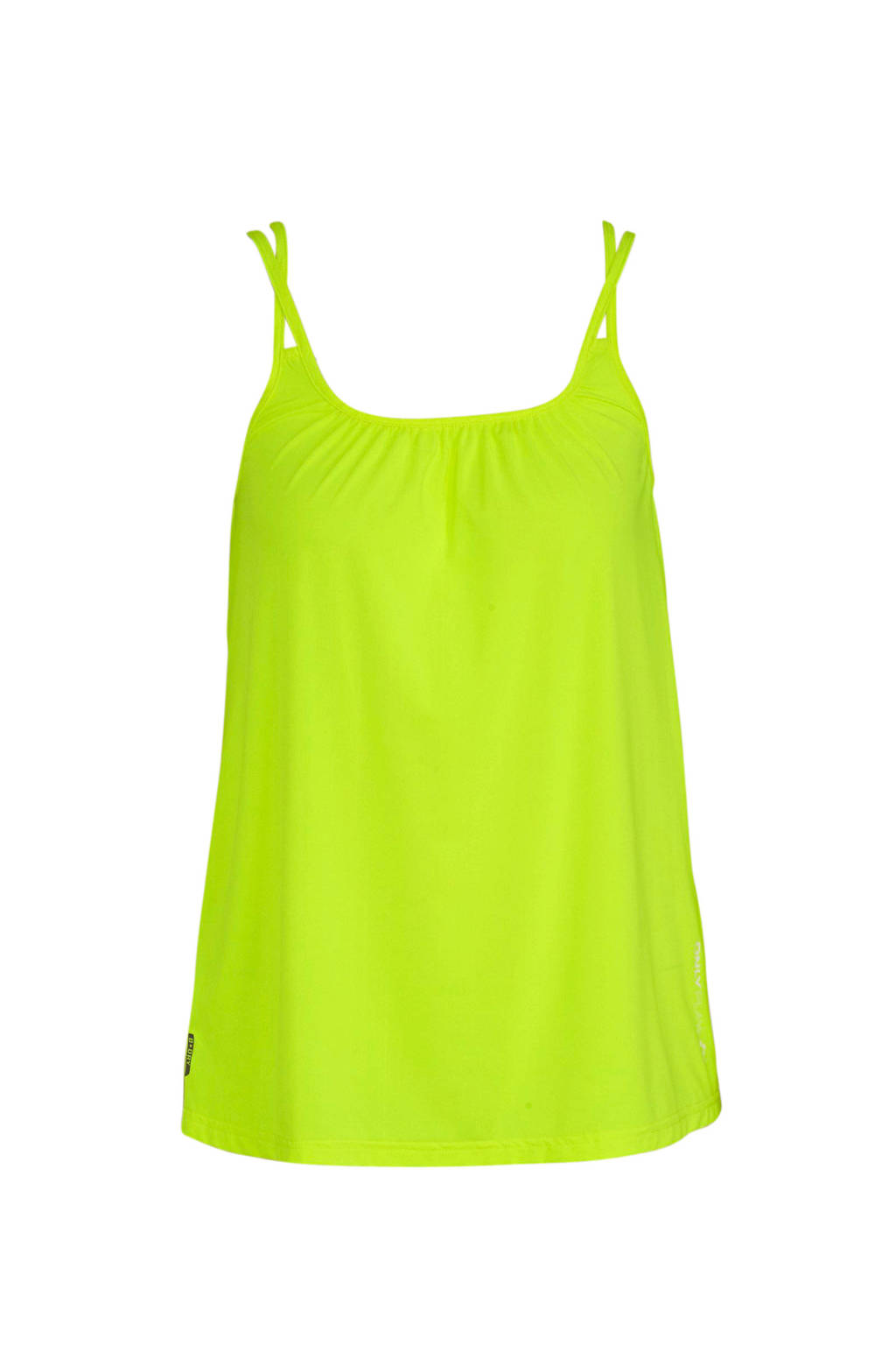 ONLY PLAY sporttop neon geel, Neon geel