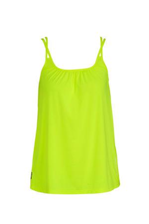 sporttop neon geel