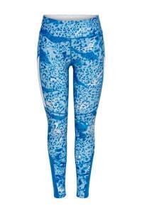 ONLY PLAY sportbroek blauw/wit, Blauw/wit