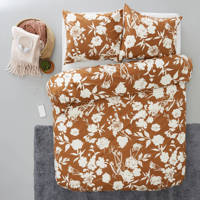wehkamp home katoenen dekbedovertrek lits-jumeaux, Lits-jumeaux (240 cm breed)