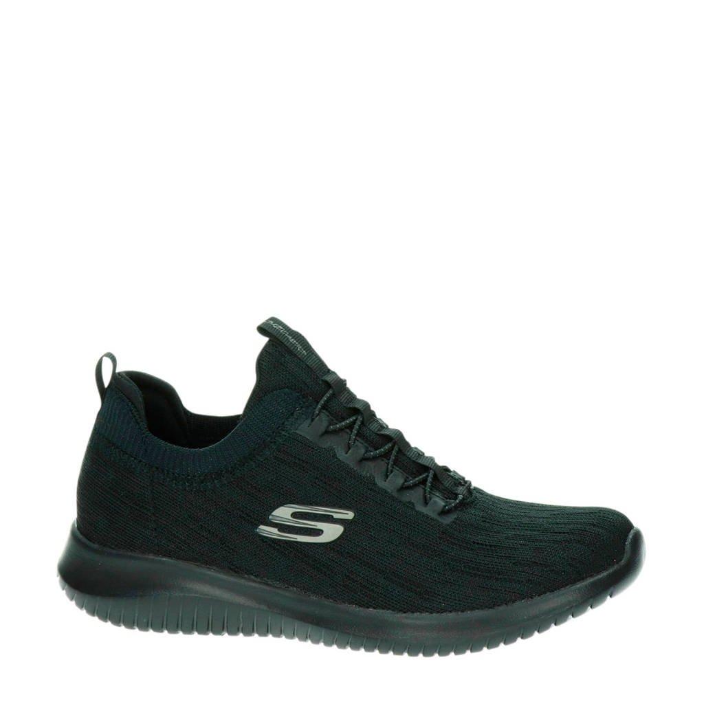 Skechers Ultra Flex Bright Horizon sneakers zwart, Zwart