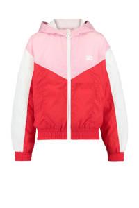 CoolCat Junior tussenjas Jaxy rood/roze, Rood/roze