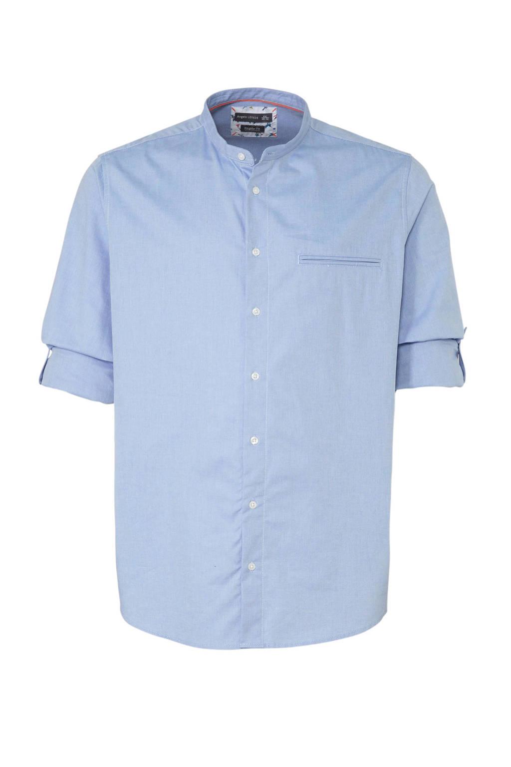 C&A XL Angelo Litrico regular fit overhemd blauw, Blauw