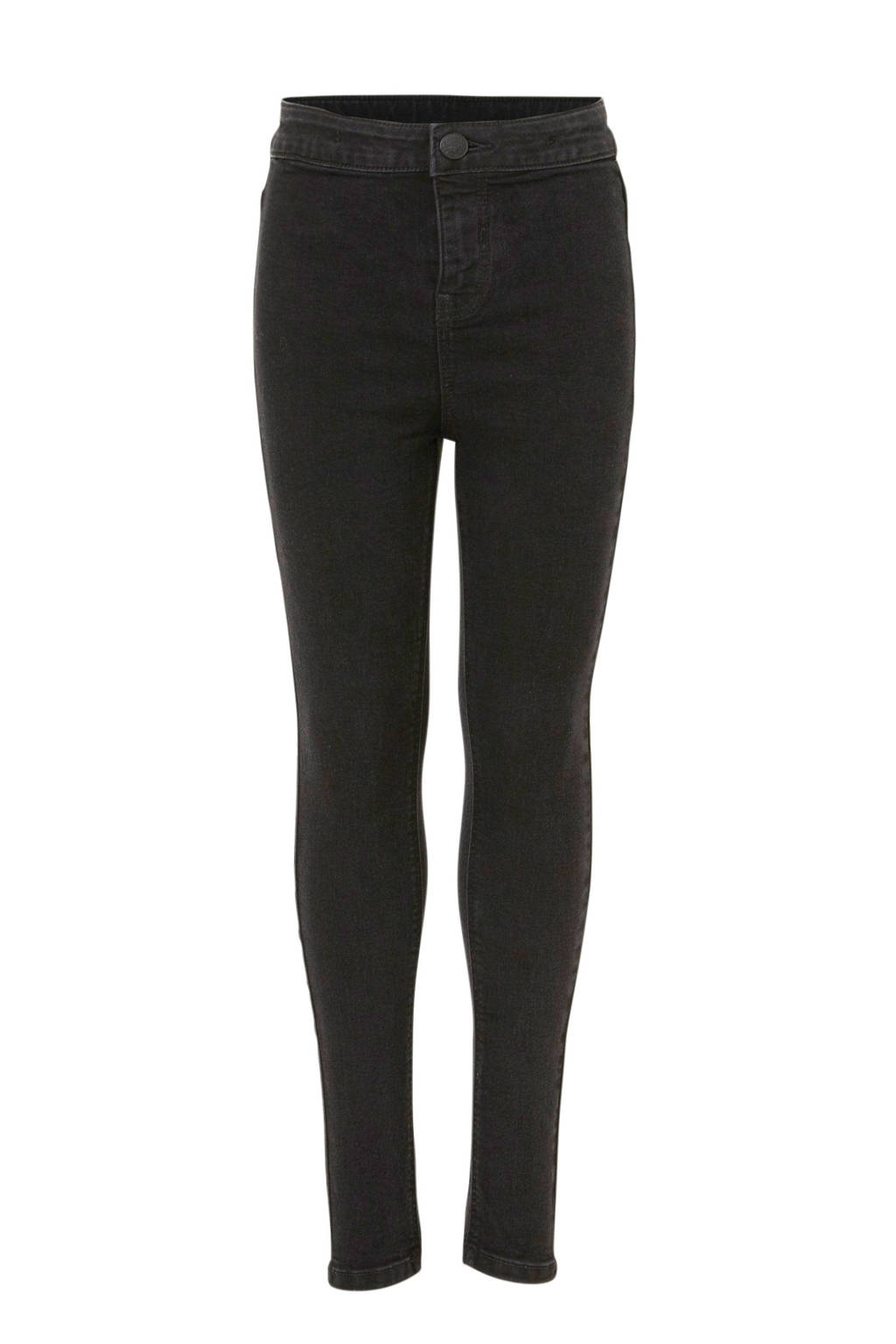 C&A Here & There super skinny jeans zwart, Zwart