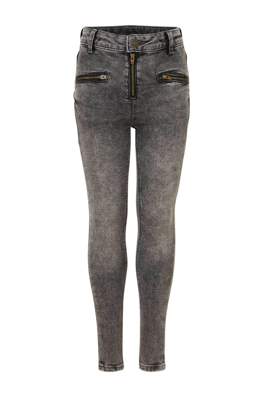 C&A Here & There skinny jeans grijs stonewashed, Grijs stonewashed