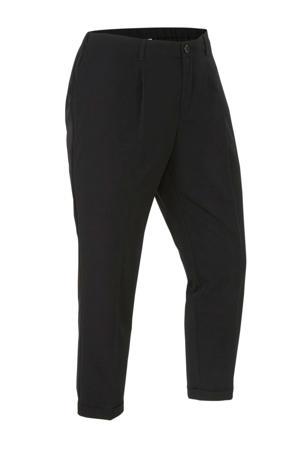 regular fit pantalon zwart