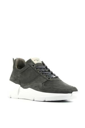 Elven Tanuki  nubuck sneakers grijs