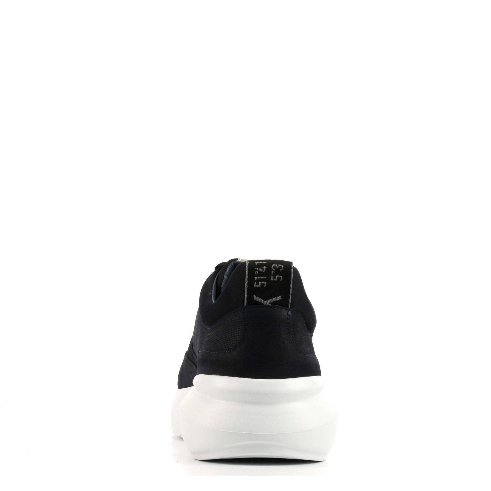 Elven Tanuki nubuck sneakers donkerblauw