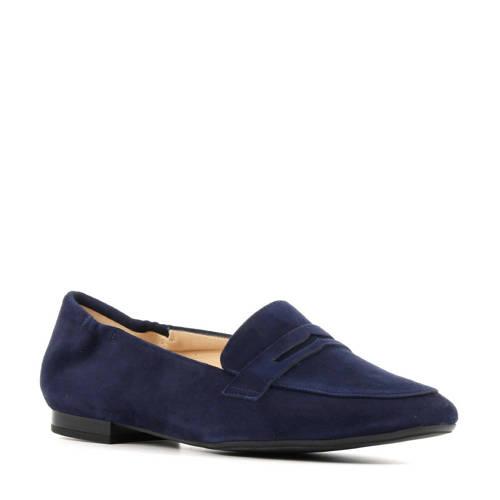 Peter Kaiser 44503 su??de loafers blauw