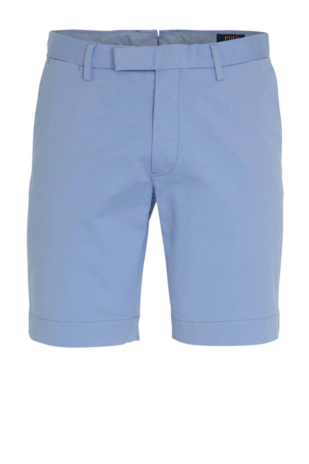 POLO Ralph Lauren slim fit bermuda blauw, Blauw