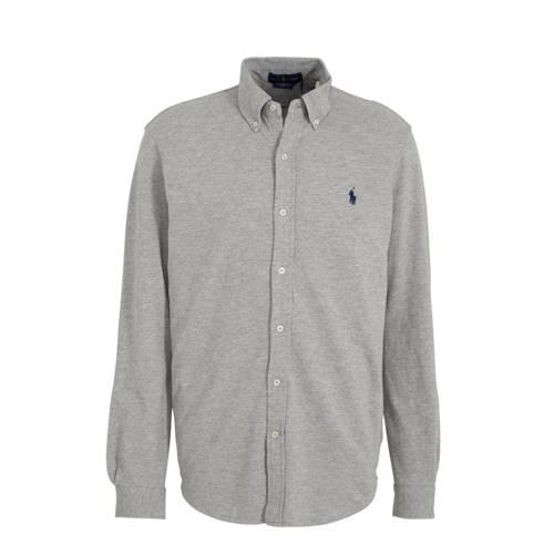 POLO Ralph Lauren regular fit overhemd grijs