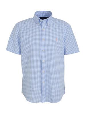 regular fit overhemd lichtblauw
