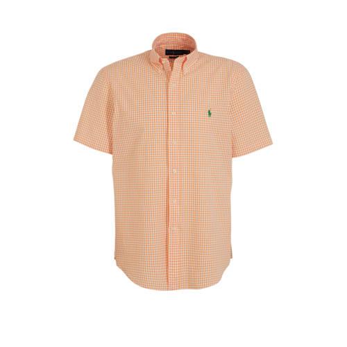 POLO Ralph Lauren slim fit overhemd zalm