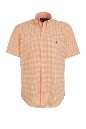 slim fit overhemd zalm